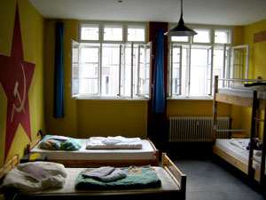 red star [helter skelter hostel berlin]